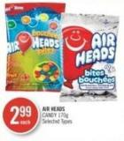 Air Heads Candy 170g