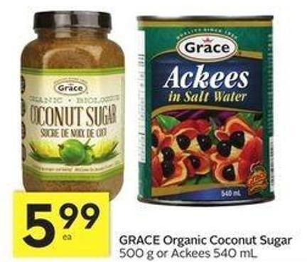 Grace Organic Coconut Sugar