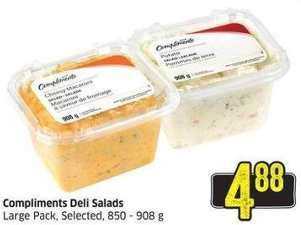 Compliments Deli Salads Large Pack - Selected - 850 - 908 g