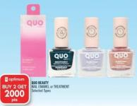 Quo Beauty Nail Emamel or Treatment