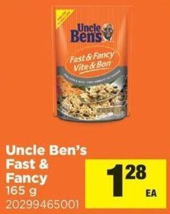 Uncle Ben's Fast & Fancy - 165 G