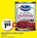Ocean Spray Cranberry Sauce 348 mL
