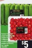 Farmer's Market Grape Tomatoes - 2 Lb Or Mini Cucumbers - 15's