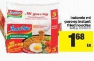 Indomie Mi Goreng Instant Fried Noodles - 5x85 g
