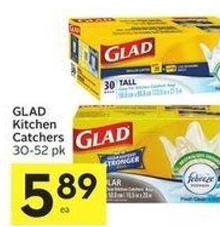 Glad Kitchen Catchers 30-52 Pk