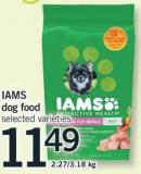 Iams Dog Food - 2.27/3.18 Kg