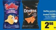 Ruffles Potato - 210/220 g Or Doritos Tortilla - 230-280 g Chips