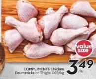 Compliments Chicken Drumsticks