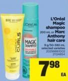 L'oréal Magic Shampoo - 200 mL Or Marc Anthony Hair Care - 9 G/50-380 mL