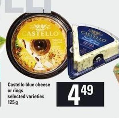 Castello Blue Cheese Or Rings - 125 G