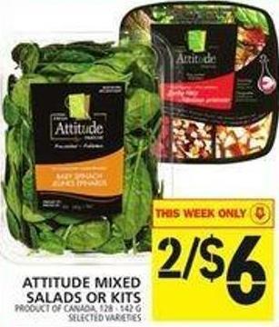 Attitude Mixed Salads Or Kits
