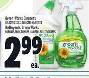 Green Works Cleaners