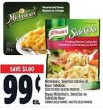 Michelina's - Selection Entrées or Knorr Sidekicks