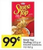 Stove Top Stuffing 120 g or Knorr Sidekicks 112-162 g