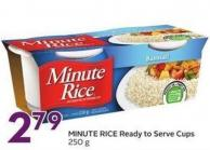 Minute Rice Ready To Serve Cups