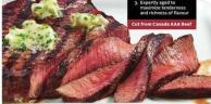 Sterling Silver Top Sirloin Steaks