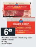 Maple Leaf - Schneiders Or Ready Crisp Bacon - 65-375 g