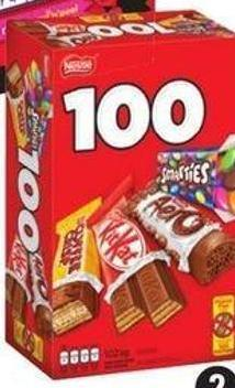 Nestlé Halloween Favourites - 100-count
