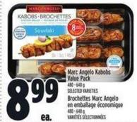 Marc Angelo Kabobs Value Pack