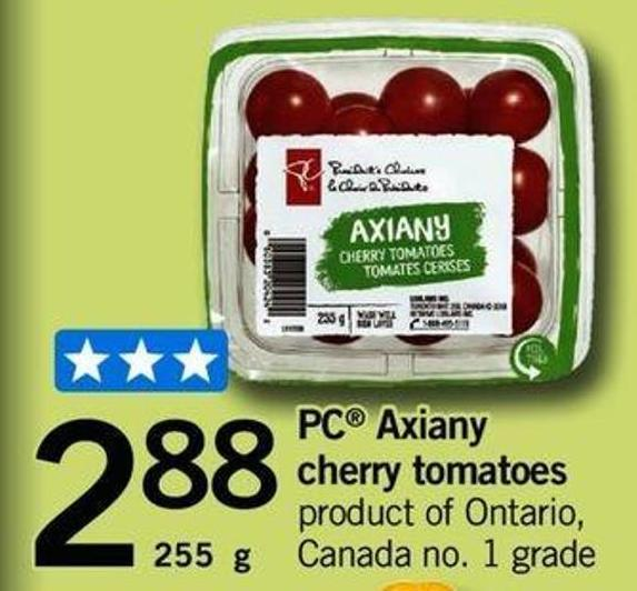 PC Axiany Cherry Tomatoes - 255 G