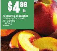 Nectarines Or Peaches