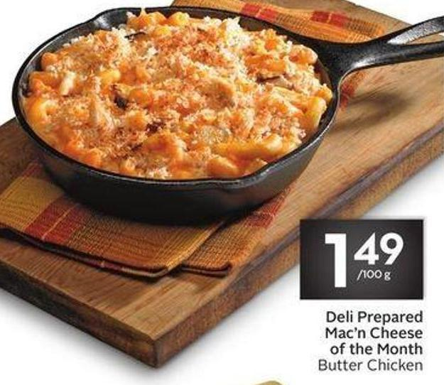 Deli Prepared Mac'n Cheese of The Month