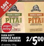 Farm Boy Double Baked Pita Crackers