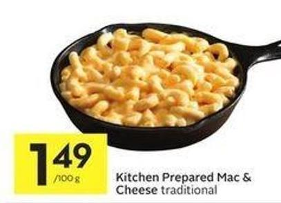 Kitchen Prepared Mac & Cheese