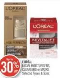 L'oréal Facial Moisturisers - Cleansers or Masks