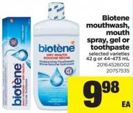 Biotene Mouthwash - Mouth Spray - Gel Or Toothpaste - 42 g or 44-473 mL