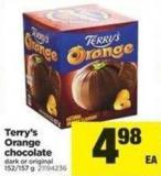 Terry's Orange Chocolate - 152/157 g