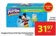 Huggies Econo Pull-Ups Training Pants
