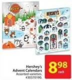 Hershey's Advent Calendars