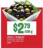 Olives Or Antipasto