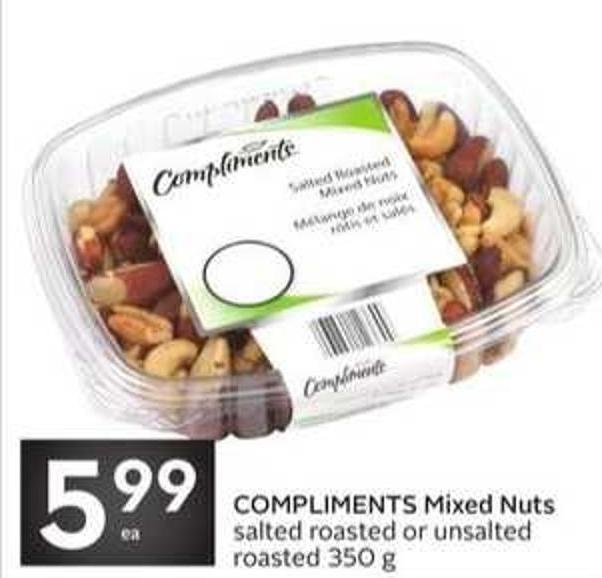 Compliments Mixed Nuts