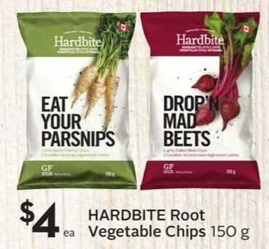 Hardbite Root Vegetable Chips