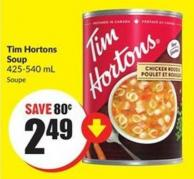 Tim Hortons Soup 425-540 mL