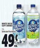 White Rock Soft Drinks