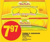 Tinnel's Jamaican Patties - 1.12 Kg