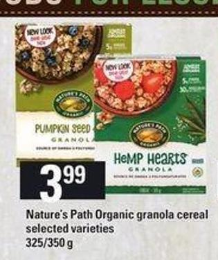 Nature's Path Organic Granola Cereal - 325/350 g