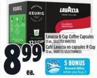 Lavazza K-cup Coffee Capsules