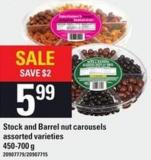 Stock And Barrel Nut Carousels - 450-700 g
