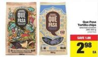 Que Pasa Tortilla Chips.286-350 g
