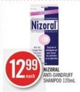 Nizoral  Anti-dandruff Shampoo 120ml