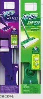 Swiffer Selected Household Cleaning Products