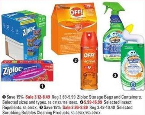 Selected Repellents