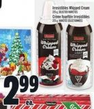 Irresistibles Whipped Cream 225 g