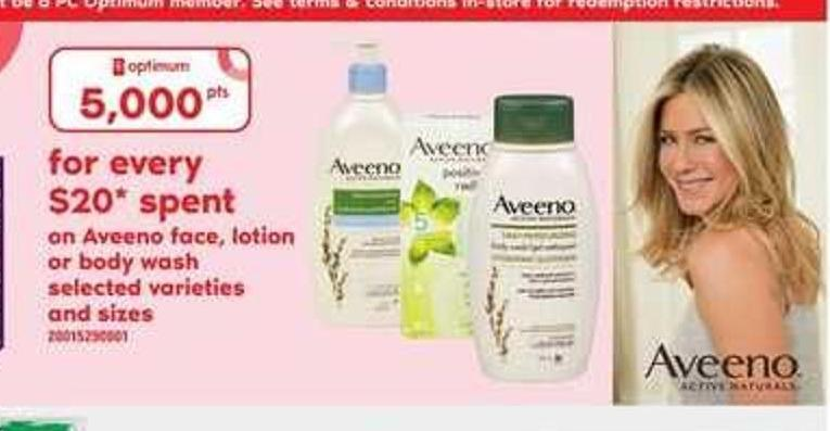 Aveeno Face - Lotion Or Body Wash