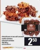 Chocolicous Or Sea Salt Caramel Cookie Clusters - 156/183 G