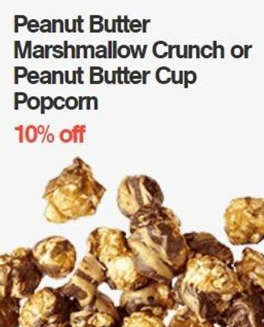Peanut Butter Marshmallow Crunch or Peanut Butter Cup Popcorn